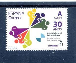 2021 - SPAIN -Ibero-American General Secretariat, 30 Years- MNH