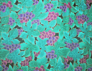 CLASSIC HOFFMAN WINDSOR COLLECTION - GRAPES AND LEAVES - 100% COTTON FABRIC