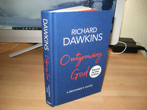 Richard Dawkins Signed 1st Outgrowing God A Beginner's Guide author God Delusion
