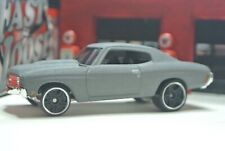 Hot Wheels '70 Chevy Chevelle - Gray - Loose 1:64 - Fast & Furious