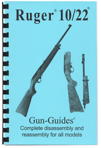 Ruger 10/22 Manual Book Takedown COMPLETE 10 22 LR Guide Gun-Guides 67 Pages