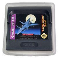 F-15 Strike Eagle Sega Game Gear Cartridge Only Tested Works