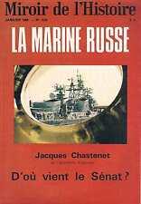 Miroir De L'histoire   N°229   Jan 1969 la marine russe d'où vient le senat