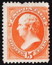 US Sc# 189 *MINT NG H* { 15c RED ORANGE WEBSTER } HUGE MARGINS BANK NOTE OF 1879