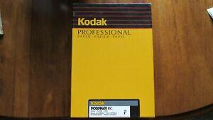 500 SheetNOS Kodak Polymax Professional RC Glossy B&W F Paper 5x7SEALED