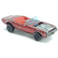 Vintage Hot Wheels Redline - 1968 - Custom Firebird Red