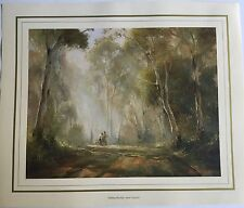 New Kevin Best Artist Painting Print - Making Mischief - near Cresford