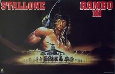 Rambo III 23x35 Sylvester Stallone Art Movie Poster 1988 First Blood Part 3