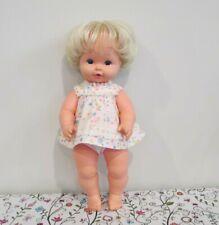 Vintage All Vinyl Baby Tenderlove Baby Doll by Mattel, 1969