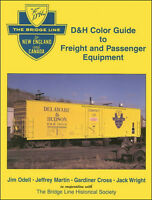 DELAWARE & HUDSON Color Guide to Freight & Passenger - (Out of Print NEW BOOK)