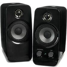 creative Inspire T10 2.0 Stereo-Lautsprechersystem, schwarz