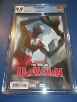 Rise of Ultraman #2 Artgerm Lau Variant CGC 9.8 NM/M Gorgeous Gem