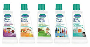 Original Dr Beckmann Stain Devils 50ml Specialist Stain Removers for Clothes