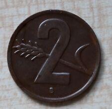 2 Rappen Schweiz 1949 Kursmünze