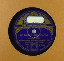 "10"" Schelllack - Bob Crosby - Melancholy Mood - The World is waiting - A9"