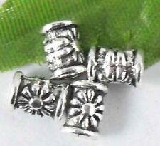Wholesale 88/167Pcs Tibetan Silver  Spacer Beads 7x5mm(Lead-free)