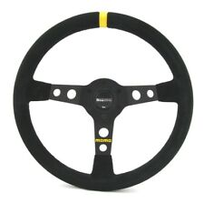 Momo Wildleder Sportlenkrad Modell MOD. 07 350mm schwarz black steering wheel vo