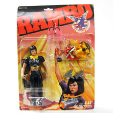 Rambo K.A.T. Action Figure The Force of Freedom KAT 1986 Coleco Rambo Rare Used