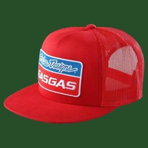 Troy Lee Designs Gasgas Red Team Snapback Stock Hat size OS