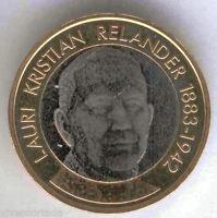 5 Euros Finlandia 2016 L.K. Relander  @@ Nº 44 @@