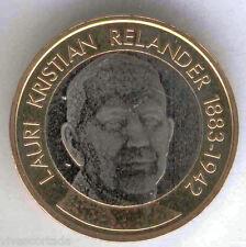 5 Euros Finlandia 2016 L.K. Relander @@ NOVEDAD @@ Bimetalica @@ Nº 44 @@