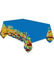 TEENAGE MUTANT NINJA TURTLES blu plastica copertura di tabella (1,8 m x 1,2 m) per una parte