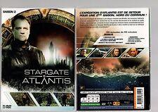 STARGATE ATLANTIS - Intégrale Saison 2 - Coffret 3 Boitiers Slims 5 DVD - NEUF