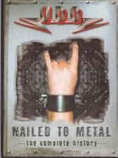 UDO =NAILED TO METAL= THE COMPLETE HISTORY  DVD PAL