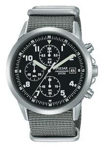 *Pulsar Gents Military Watch - PM3129X1 (formally PJN305X1) PNP
