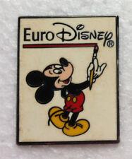 Pin's pin EURO DISNEY - MICKEY ARTISTE PEINTRE  (ref H35)