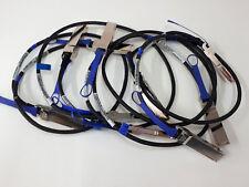 Lot of 5 Mellanox MC2207130-001 Passive Copper Cable VPI up to 56Gb/s QSFP 1m