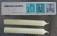 Home Candles For Prayer Beeswax Catholic AI Root Company Box Of 2 Vintage
