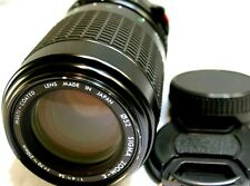 Sigma 70-210mm f4-5.6 Lens FD Telephoto manual focus for AE-1