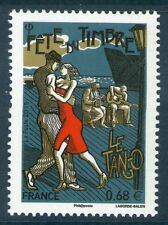 TIMBRE 4982 NEUF XX LUXE - FETE DU TIMBRE - DANSEURS DE TANGO