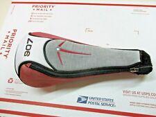TITLEIST 907D1 Driver Head Cover ~ Red/Black/White Headcover w/ Zipper ~ OEM HC