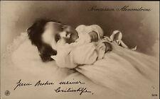 Adel Monarchie ~1915 Prinzessin Alexandrine von Preußen Postkarte Cecilienhilfe