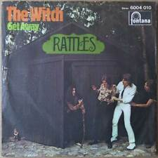 "7"" Rattles - The Witch - Deutschland 1970 - VG+(+) to VG++ - RARE"
