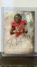 Justin Hardy 2015 Inception Autograph Rookie Card Atlanta Falcons Wide Receiver