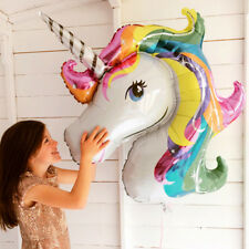 UNICORN FOIL BALLOON LARGE FANTASY HORSE LOLLY/ LOOT BAG BIRTHDAY PARTY BALLOONS