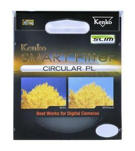 KENKO SMART BY TOKINA 55MM CIRCULAR POLARISING FILTER CPL CIRC-POL PLC