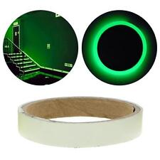Glow In The Dark Luminous Fluorescent Night Self-adhesive Sticker Tape Green US
