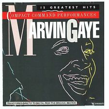 Marvin Gaye - Compact Command Performances: 15 Greatest Hits (CD)