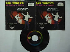 "LOS YORSY'S DE COSTA A COSTA ""GOOD MORNING STARSHINE"" MUSART 1969 MEXICAN EP 7'"