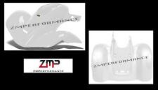NEW HONDA TRX 300EX TRX 250X WHITE PLASTIC STANDARD FRONT AND REAR FENDER SET