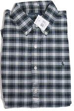 Polo Ralph Lauren Mens Pony Logo Custom Slim LS Oxford Button Sport Dress Shirt