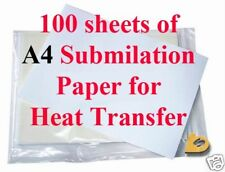 100 A4 High Release Dye Sublimation Paper For Epson Sublimation Ink 95gsm
