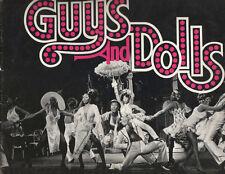"""Guys And Dolls"" Revival  Broadway Souvenir Program OBC 1976 Robert Guillaume"