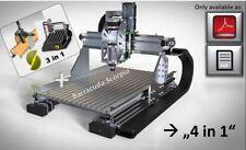 Bauanleitung CNC Lowcost Portalfräsmaschine Bauplan Fräse Barracuda:Scorpio LAN