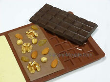 3 cell (95g) Large Chocolate Bar Mould Professional Chocolatier Silicone Mold