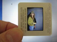 Original Press Photo Slide Negative - Poison - Rikki Rockett - 1991 - B